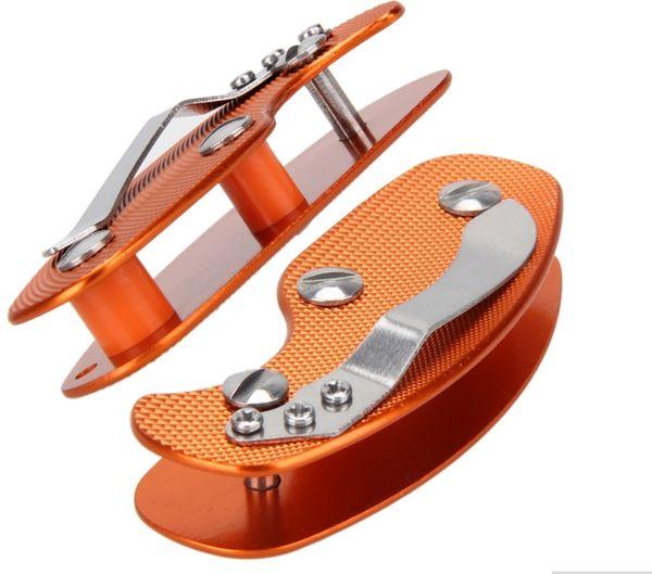 300pcs Multifuction Keychain Tools Folding Keys Organizer EDC Holder Pocket Aluminum Key Bar EDC Outdoor Survival Tool