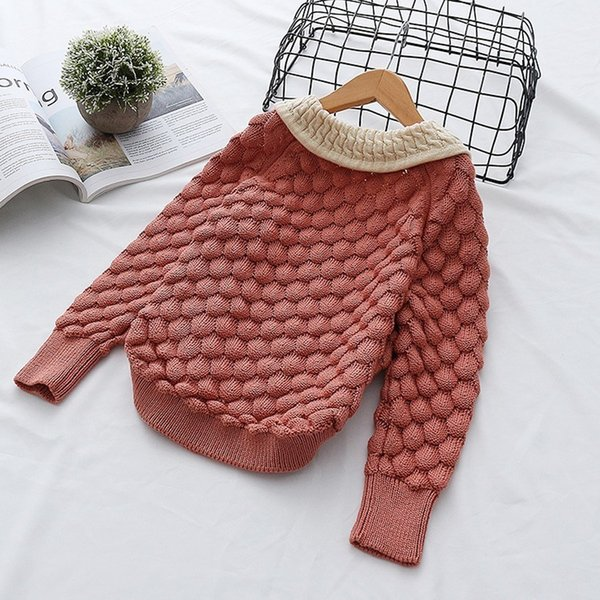 Compre Primavera Otoño Toddler Baby Girl Cable Knit Sweater Suéter ...