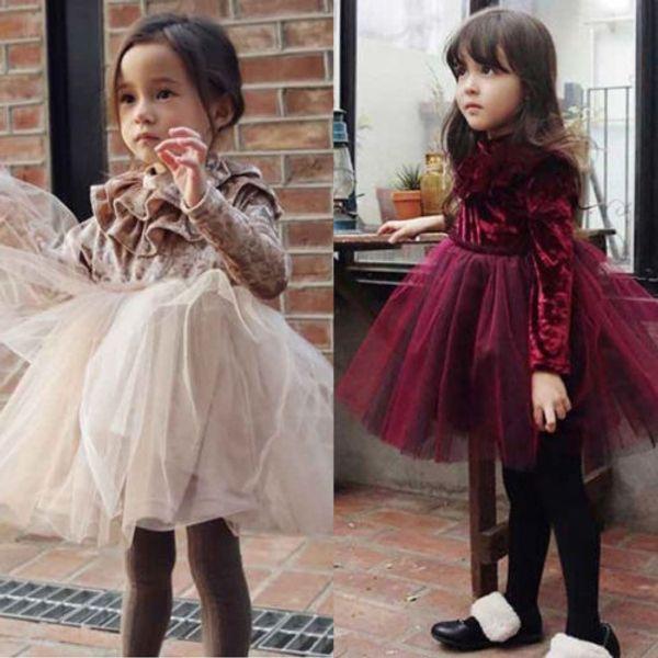 4ba69f104 Autumn Girl Dress Velvet Coupons