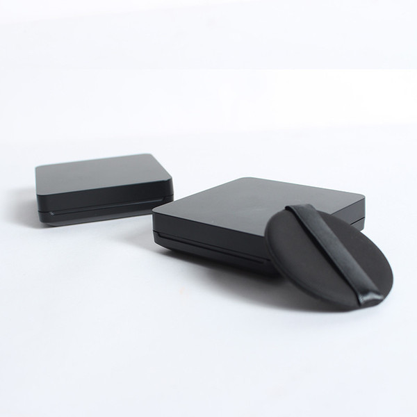 New Arrival Empty Packing Box of Air Cushion Case, DIY Black CC Cream Container Packing Boxes fast shipping F302