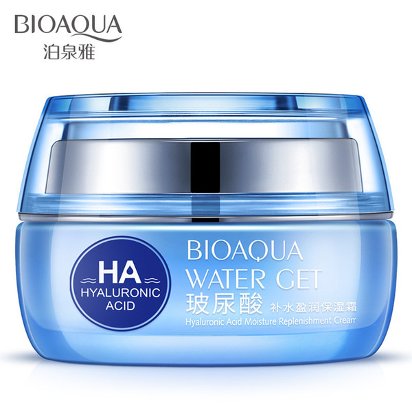 BIOAQUA Hyaluronic Acid Day Cream and Moisturizing Cream Recombination Cream Facial Skin Care Moisturizing Oil Control Shrinkage Pore Skin C