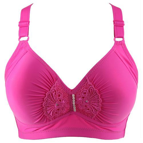 Hiçbir Jantlar Bras kadın iç çamaşırı Artı boyutu 95 42 BCD ince kablosuz sutyen şınav tam kupası kadın lingeries