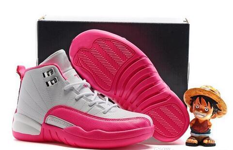 Более дешевые 12 дети баскетбол обувь для мальчиков девочек кроссовки дети Babys 12S размер кроссовки 11C-3Y