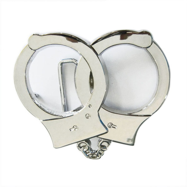 Fashion Belt Buckle (Handcuffs)
