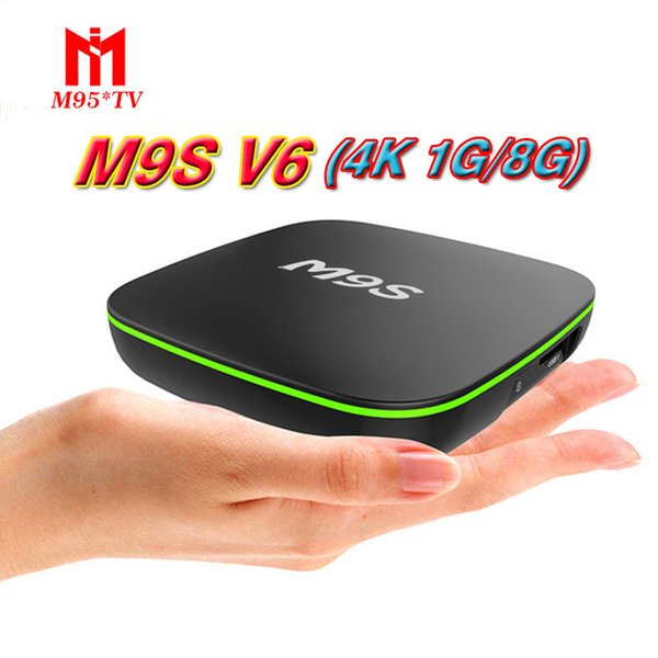 Venta de fábrica OEM MX2 M9S V6 Nueva MXQ PRO 4K RK3229 Quad Core Android 7.1 TV CAJA con 4K Media Player