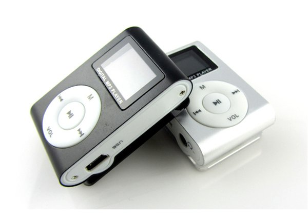 best selling Cool MP3 player with display screen, metal clip MP3, mini sports MP3, stylish music player. multiple styles.