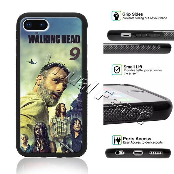 Compra online Case Funda Protector Iphone X The Walking Dead Dead