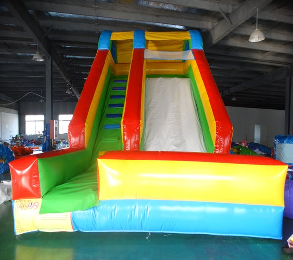 2017 Factory direct sale PVC giant inflatable slide for sale