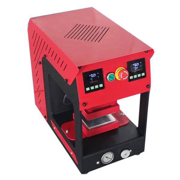 Rosin dab press machine 20ton No Air Compressor PURE ELECTRIC Auto dual heat plates 20 Ton rosin heat press machine with LCD panel