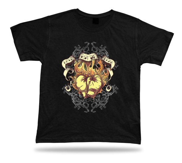Love Hate Fear Boxing Gloves Sports awesome colorful tshirt design gift apparel