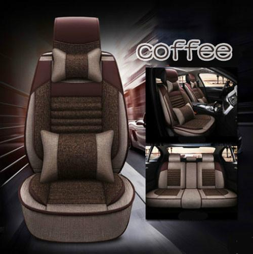 car interior accessories four season general car mat all clusive full set flax breathable car seat cushion