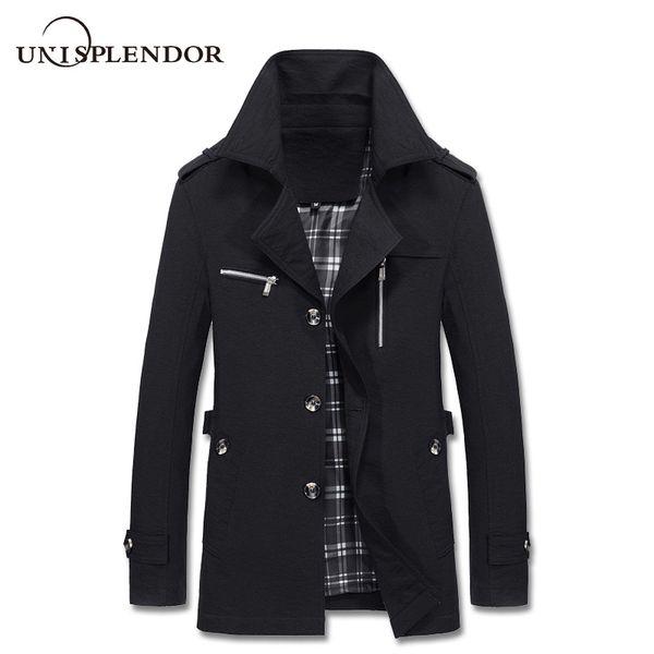 2018 Spring Autumn Men Cool Jacket Casual Solid Man Windbreaker Plus Size 4XL 5XL Male Fashion Streetwears Mans Jackets YN10330