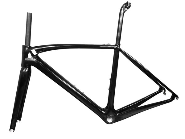 2018 New all carbon fiber road bike frame with various colors, custom coating,can be XDB DPD ship