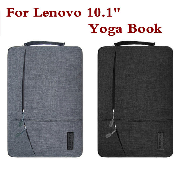 Creative Design Laptop Sleeve Pouch For Lenovo yoga book 10.1 Inch Fashion Hand Holder Tablet PC Case Waterproof Bag Pen As Gift
