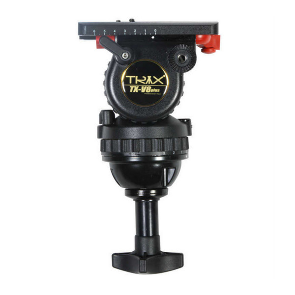 TRIX Teris TX-V8 TS80 Flüssigkeitskopf Professionelle Stativkopf 75mm Schüssel Load 8KG für Videostativ HDV C300 BMCC Kamera Tilta Rig
