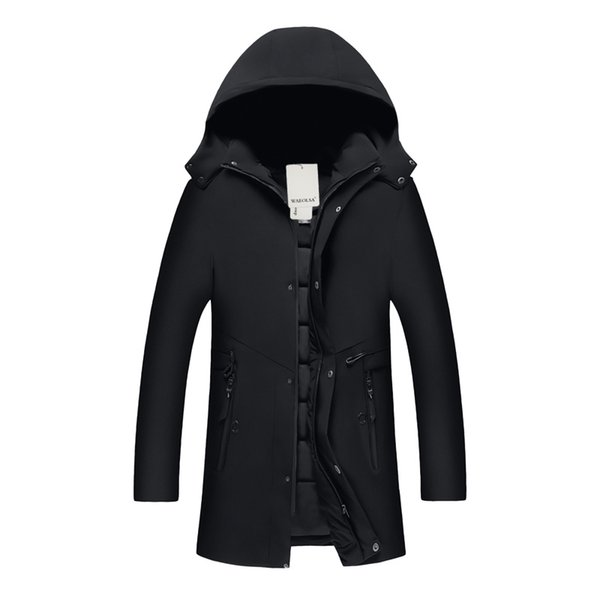Man Winter Puffer Hooded Jackets Casual Quilted Basic Coat Men Padded Outerwear Male Leisure Puff Parkas Mens Padded Hood Jacket