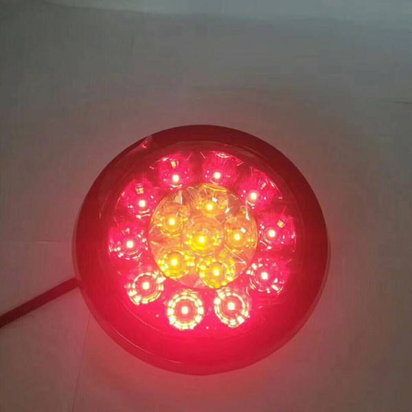 Compre Parada Rojo Luz Lámparas Universal Señalización De 12V LED Remolque Traseras Rojo De Luces La Para Par Caravana 24V Camión Bus 1 Amarillo sdQhrtC