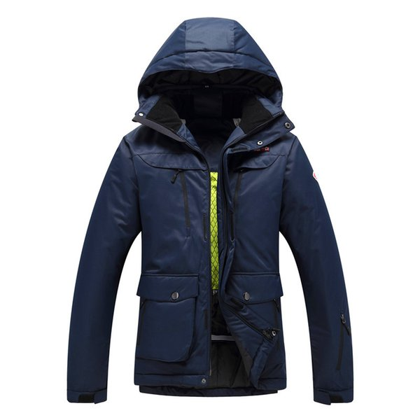 Upgrade Men High Quality Ski Jacket Skiing And Snowboarding Ski Jackets Outdoor Thermal Waterproof Windproof Coat Clothing