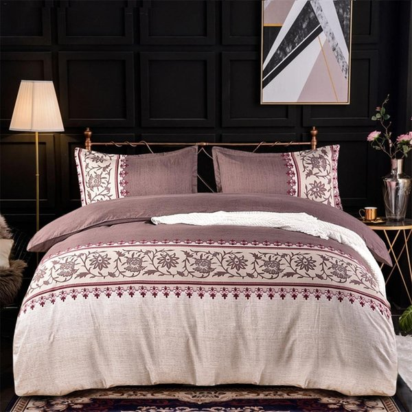 Gold Color Europe Luxury Royal Bedding sets Queen King size Jacquard Duvet cover Bed cover spread set Ins Hot pillowcase 3Pcs
