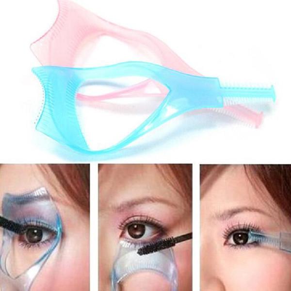 Eyelash curler Plastic Mascara Applicator Guide Guard Eyelash Curling Comb for lashes Cosmetics curvex for lashes