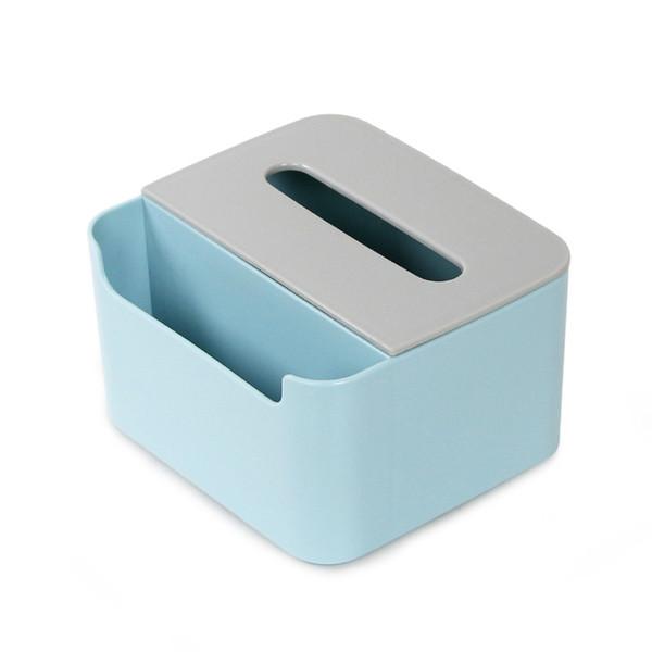 블루 티슈 박스