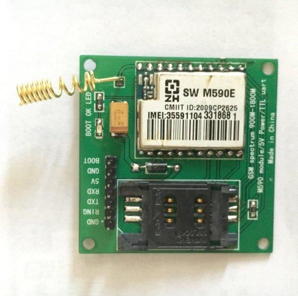 Weikedz DIY KIT SIM900 module GSM GPRS 900 1800 MHz Short Message Service SMS module neoway m590 remote sensing alarm
