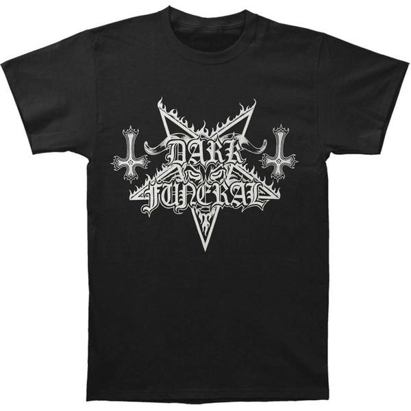 Dark Funeral Men's Blind The World T-shirt Large Black Comfortable t shirt Casual Short Sleeve Print 100% Cotton Short Sleeve T-Shirt