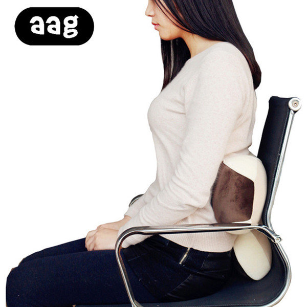 Stupendous Aag Cute Car Lumbar Support Cushion Portable Home Office Chair Bed Waist Back Rest Pad Pillow Sofa Bed Tv Pillow Relieve Pain Outdoor Cushions Online Creativecarmelina Interior Chair Design Creativecarmelinacom