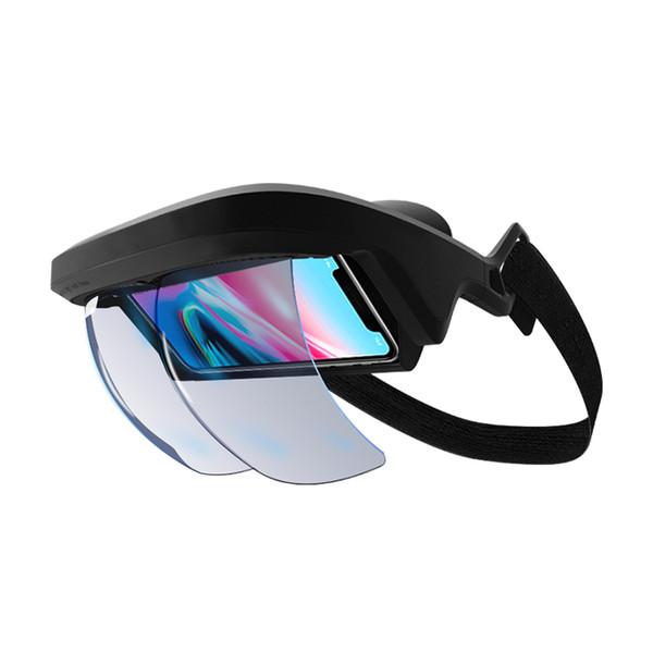 2019 Nuevo diseño Smart AR Gafas 3D Video Realidad virtual Gafas VR Auriculares para videos 3D y juegos 3D