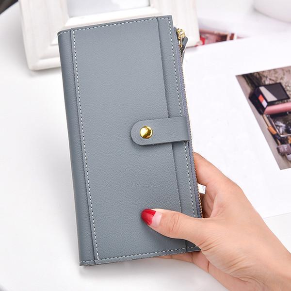 Woman Wallet Women Fashion Leather Long Women Wallet Zipper Clutch Purse Lady Long Handbag Bag Billeteras Para Mujer
