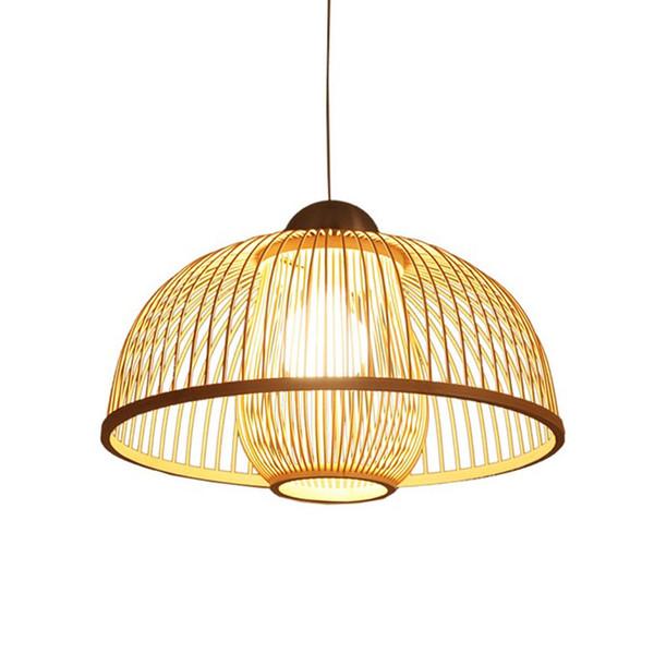 Compre Té Lámpara Luces Simple Colgantes Colgantes De Casa De Colgante OOVOV Lámparas Chino 61 Sala Estilo A120 Estudio Dormitorio Bambú Balcón De 34SARjLcq5