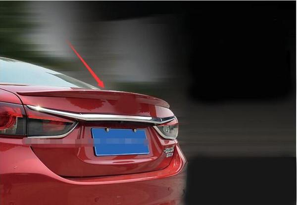 Cubierta decorativa aerodinámica del alerón del maletero trasero de calidad para accesorios Mazda6 M6 Atenza 2014-2017 car styling (Observaciones: color)