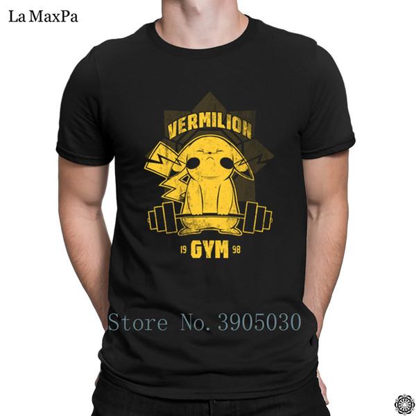 Create Stylish 2018 T-Shirt Vermilion Gyms T Shirt Man Original Mens Tshirt S-3xl Better Tee Shirt Man Hiphop