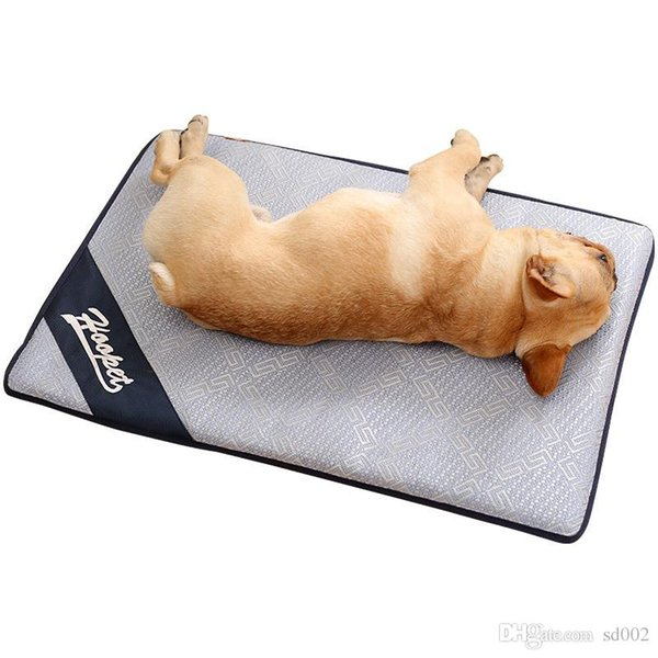 Dog Cat Summer Sleeping Mat Ice Pad Pet Rattan Sleeping Bed Puppy Favors Cooling Floor Mats Cold Cushion Pets Supplies 50hy4 ii