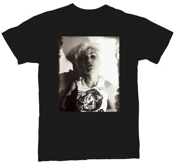 Debbie Harry Blondie Punk Rock Men's Black T-Shirt NEW! S M L XL 2XL 3XL 4XL 5XL Tee Shirt For Men O-Neck Tops Male