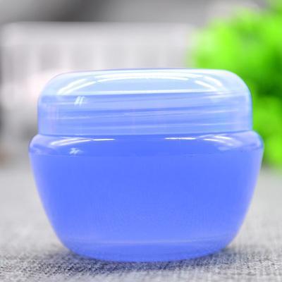 50pcs 30G PP vacíos Envases de tarros de colores, 1 onza de crema de crema cosmética botella, 30 g maquillaje ungüento artesanal