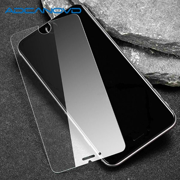 10Pcs/Lot 9H Ultra-thin tempered glass for iphone 7 8 plus screen protector protective glass for Apple iphone x 6 6s 5 5s se 4s