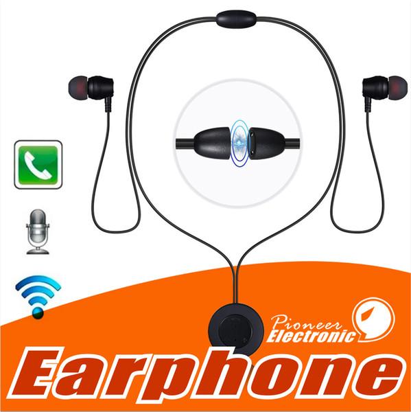 XT-8 Wireless Bluetooth Kopfhörer Neckband Headset Ohrhörer Metall Magnetic Sport In-Ear-Kopfhörer mit Mic Music Control für iPhone X Samsung