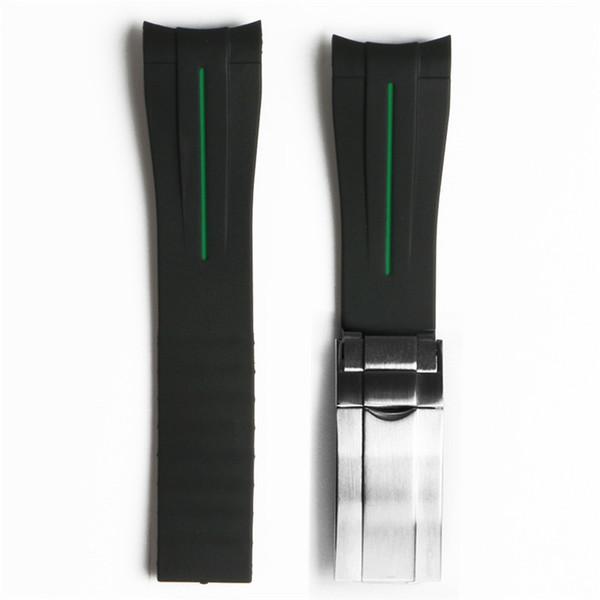 검은 녹색 20mm