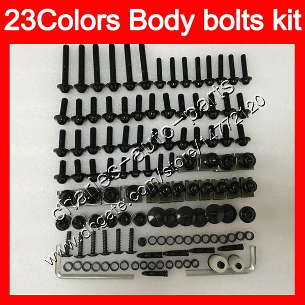 Fairing bolts full screw kit For HONDA CBR1100XX Blackbird 1100XX 1996 1997 1998 1999 2000 2001 96-07 Body Nuts screws nut bolt kit 25Colors