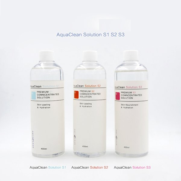New arrival aqua peel concentrated olution 400ml per bottle aqua facial erum hydra facial erum for normal kin aqua clean olution