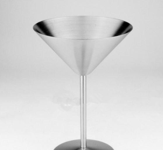 Cocktail Glass Cup Stainless Steel Wine Cup Hanap Wine Glass Martini Champagne Cup Goblet Bar Tools Mugs for Party Fashion Design wn218