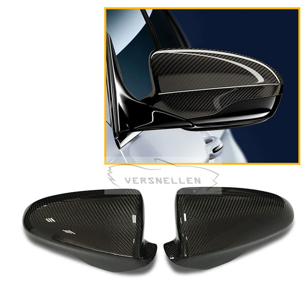 M5 Hot Selling Carbon Mirror Cover 1:1 Replacement for BMW F10 M5/F06 F12 F13 M6 2012-2016 OEM Fitment Side Mirror Caps
