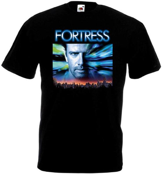 Kale V2 T-Shirt Siyah Film Afiş Tüm Boyutları S-3XL T-Shirt erkek Yaz Kısa Kollu Pamuk Özel Büyük Boy Parti Tshirt