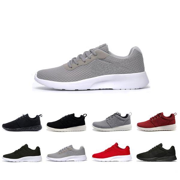 Más barato nuevo Run Men Women Running Shoes London Olympic Ros negro rojo blanco gris azul al aire libre zapatillas de deporte zapatos tamaño 36-45 envío gratis