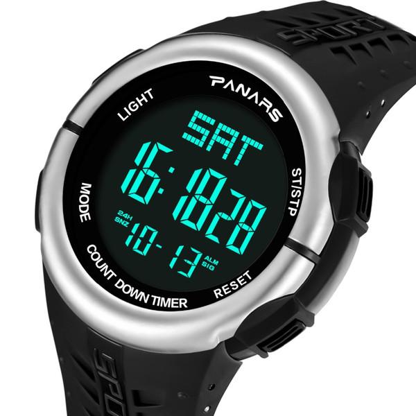 88386cd09a1 Homens relógio digital relógio do esporte à prova d  água para os homens  relógios top