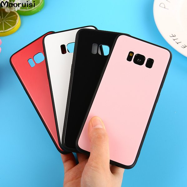 Tempered Glass Cover For Samsung Galaxy S9 Plus S8 S7 edge J3 J5 J7 2017 TPU Silicone Frame Hard Bumper For Samsung A8 Plus 2018