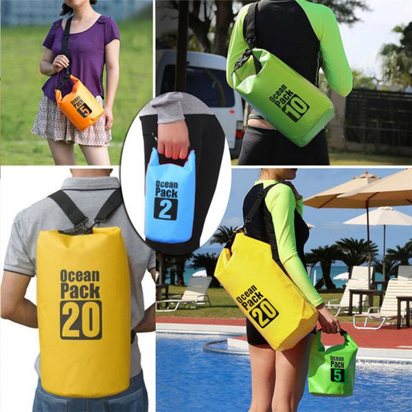 Waterproof Bag Dry Bag Ocea Pack With Shoulder Strap Protect Your Gear for Outdoor Rafting Boating Camping Fishing Swimming 5L 10L 15L 30L