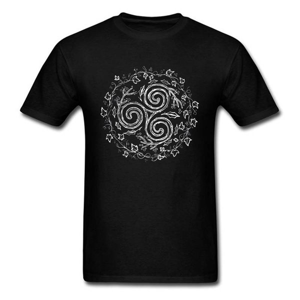 2018 New Arrival T Shirt Short Sleeve Graphic O-Neck Loop Leaf Tees For Men