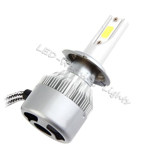 C6 COB 36W 3600lm LED Headlight Bulb Auto Headlamp Light H1 H3 H4 H7 H11  9005/9006 9007 880/881 9012 Cars Lighting Cars Lights From